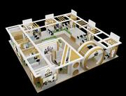 Stoisko wystawowe stoiska 3d model