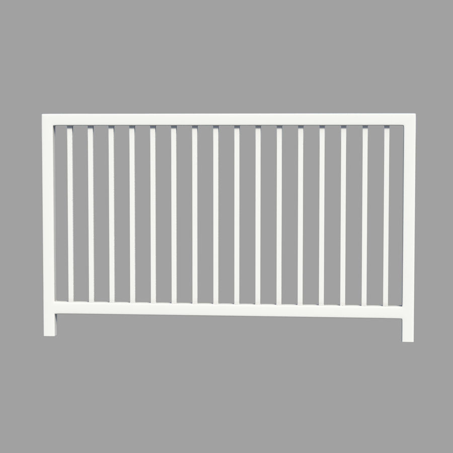 fences royalty-free 3d model - Preview no. 5