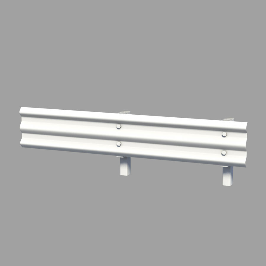 fences royalty-free 3d model - Preview no. 8