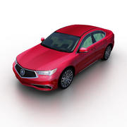 Acura TLX 2018 3d model