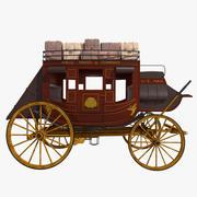 駅馬車 3d model