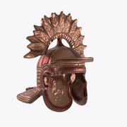 casque guerrier 3d model