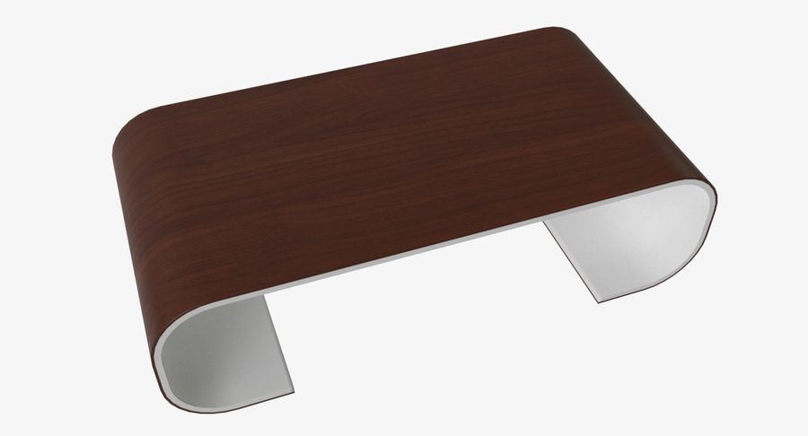 Nowoczesny stolik kawowy royalty-free 3d model - Preview no. 3