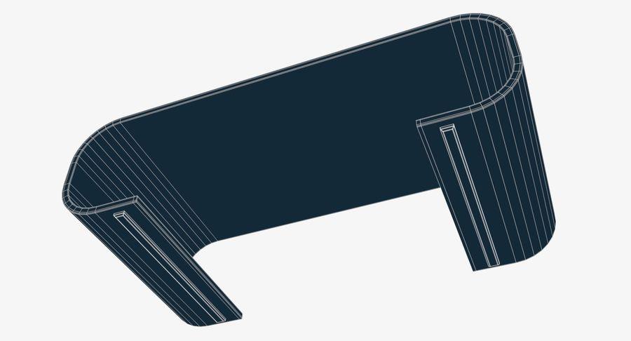 Nowoczesny stolik kawowy royalty-free 3d model - Preview no. 11