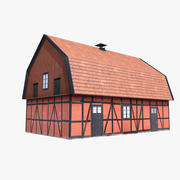 Casa de la tienda modelo 3d