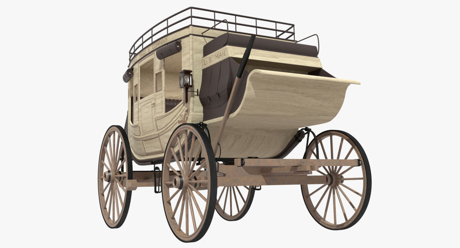 Carriage royalty-free 3d model - Preview no. 10