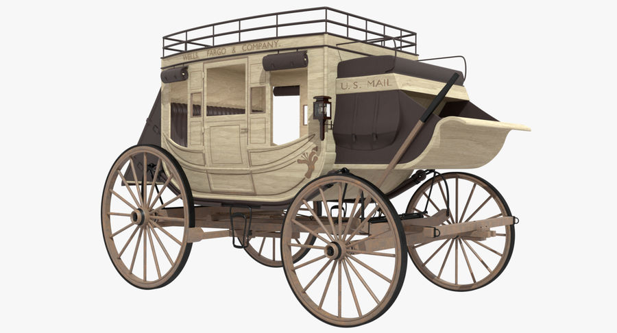 Carriage royalty-free 3d model - Preview no. 2
