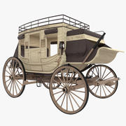 Carrozza 3d model