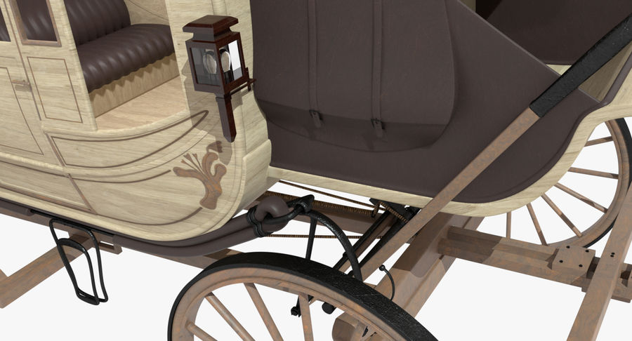 Carriage royalty-free 3d model - Preview no. 20