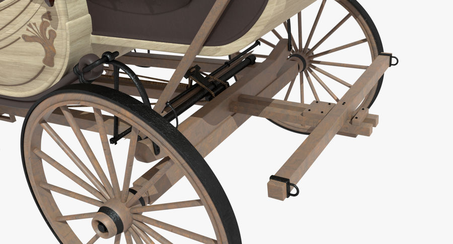Carriage royalty-free 3d model - Preview no. 21
