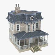 维多利亚时代的房子 3d model