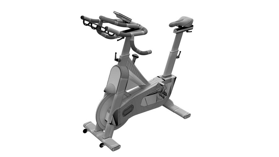 Bicicleta de gimnasio royalty-free modelo 3d - Preview no. 5