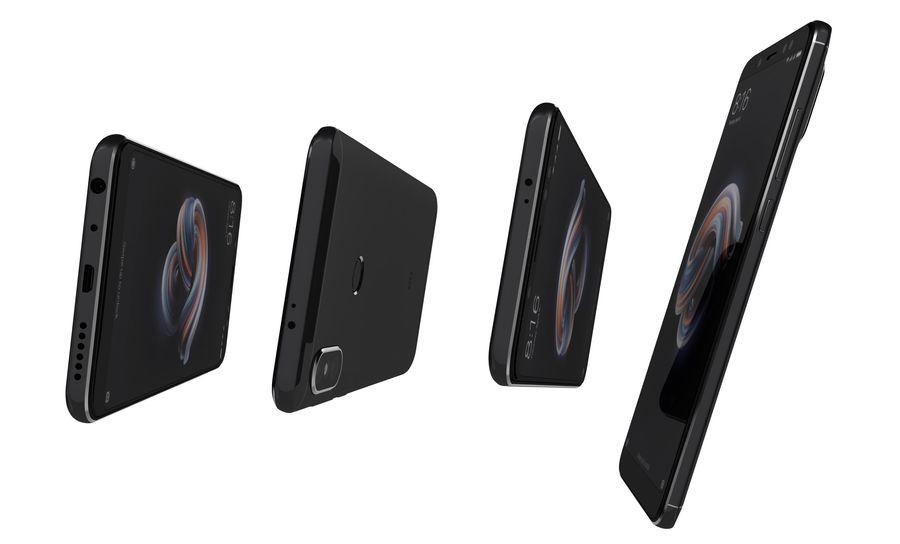 Xiaomi Redmi Note 5 Black royalty-free 3d model - Preview no. 13