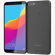 Honor 7C Black 3d model