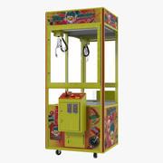 Коготь Торговый автомат Пусто 3d model