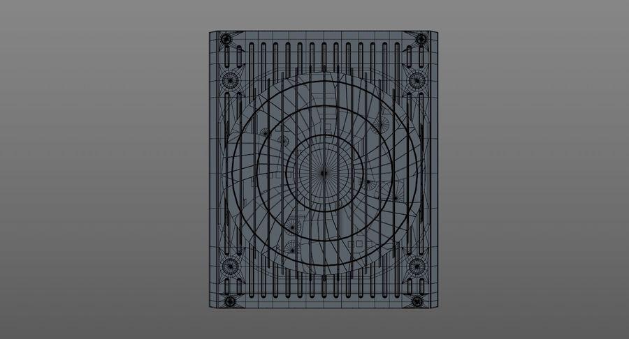 Corsair RM750x royalty-free 3d model - Preview no. 14