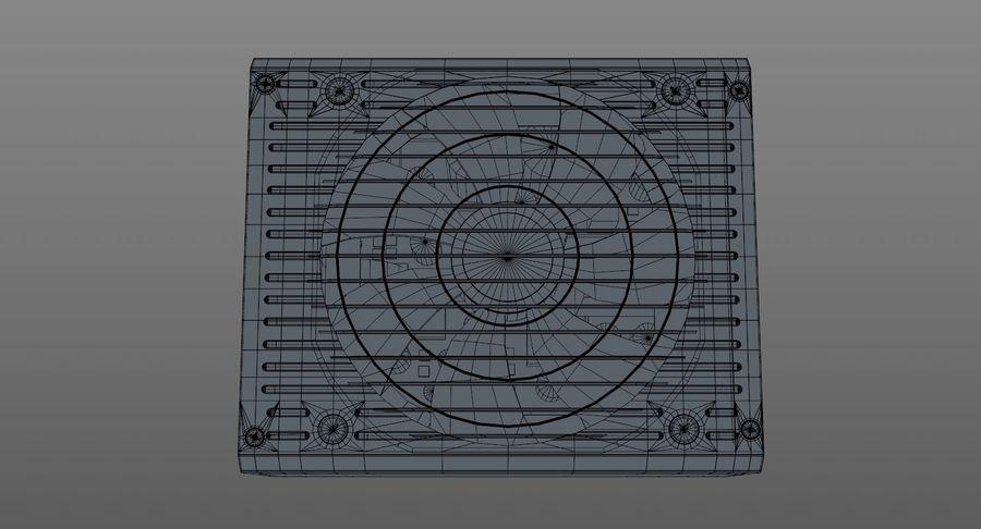 Corsair RM750x royalty-free 3d model - Preview no. 13