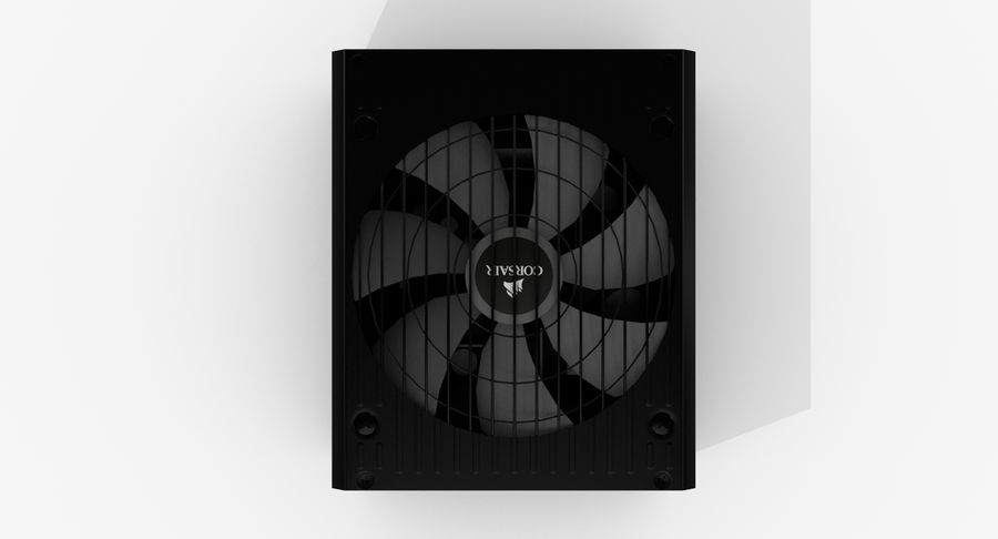 Corsair RM750x royalty-free 3d model - Preview no. 8