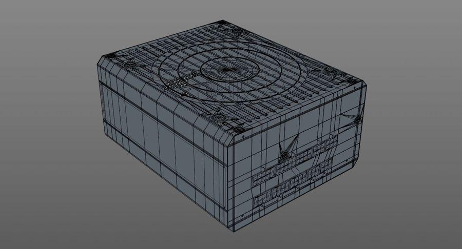 Corsair RM750x royalty-free 3d model - Preview no. 9