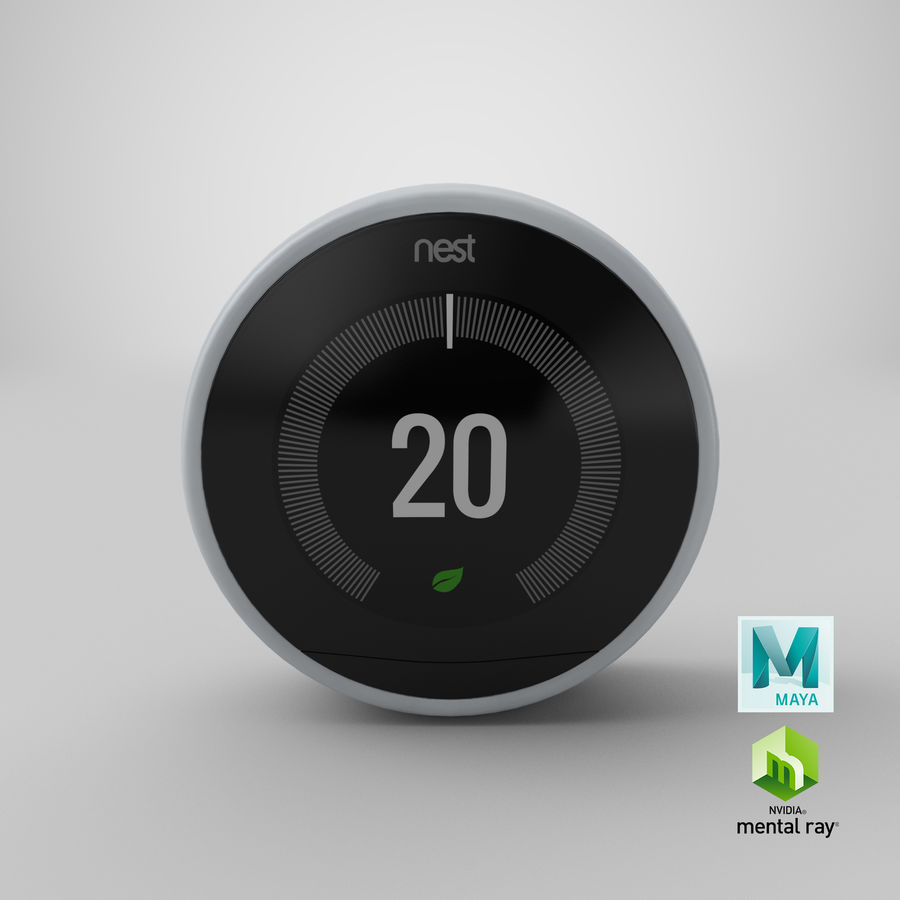 Gniazdo termostatu royalty-free 3d model - Preview no. 11