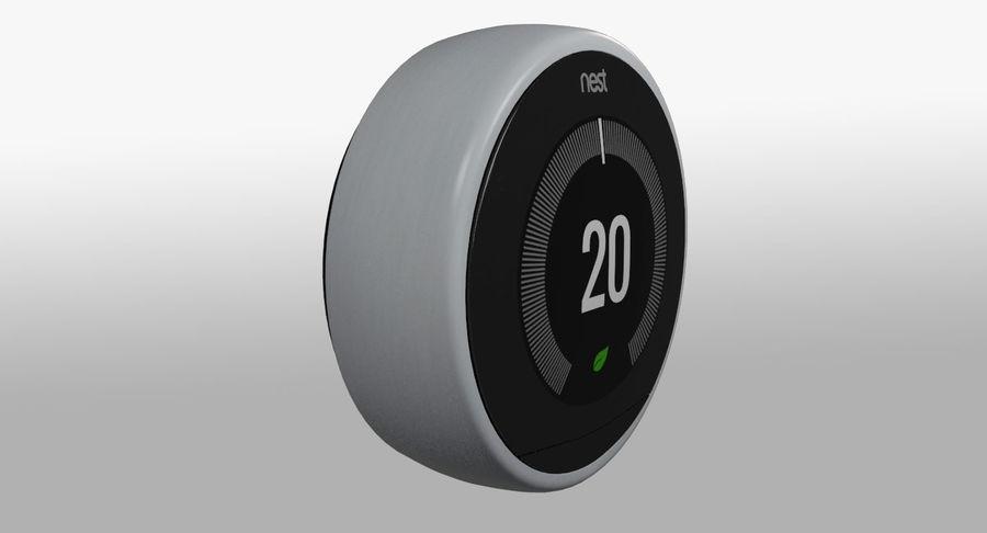 Gniazdo termostatu royalty-free 3d model - Preview no. 3