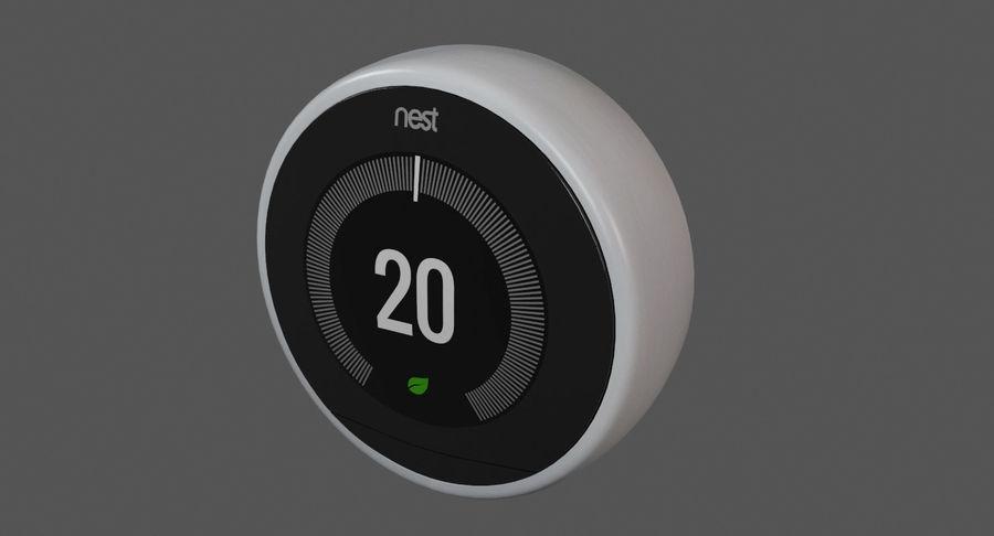 Gniazdo termostatu royalty-free 3d model - Preview no. 4