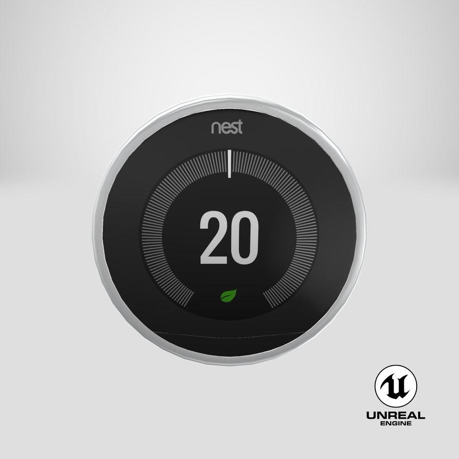 Gniazdo termostatu royalty-free 3d model - Preview no. 15