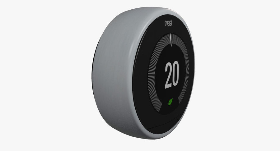 Gniazdo termostatu royalty-free 3d model - Preview no. 2