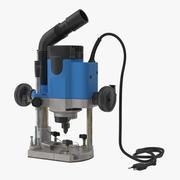 Roteador de mergulho genérico 3d model