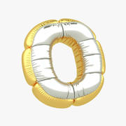 Balloon letter O 3d model