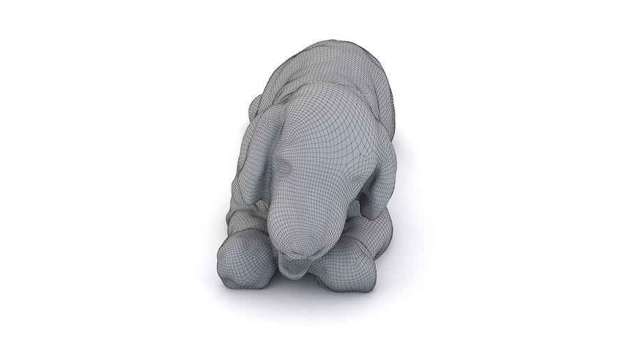 Doldurulmuş Köpek royalty-free 3d model - Preview no. 12