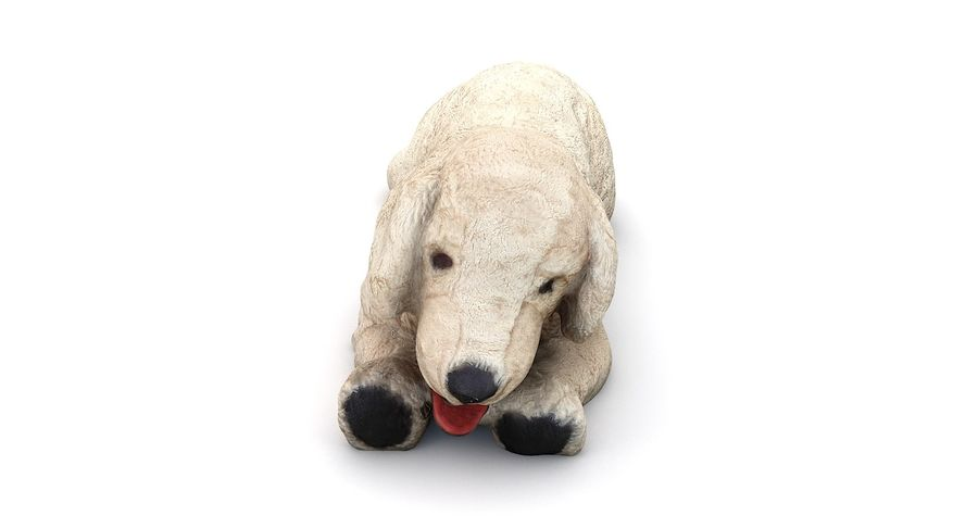 Doldurulmuş Köpek royalty-free 3d model - Preview no. 11