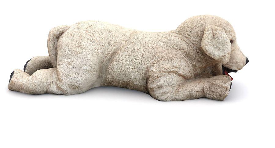 Doldurulmuş Köpek royalty-free 3d model - Preview no. 5