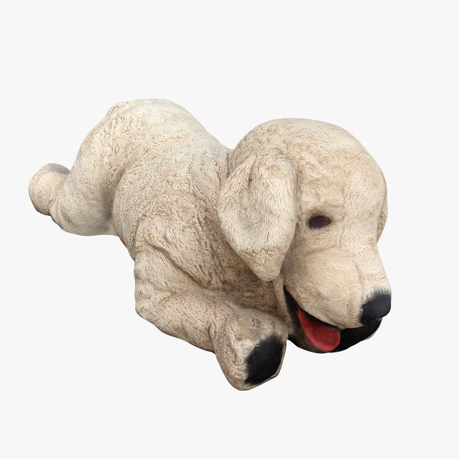Doldurulmuş Köpek royalty-free 3d model - Preview no. 1