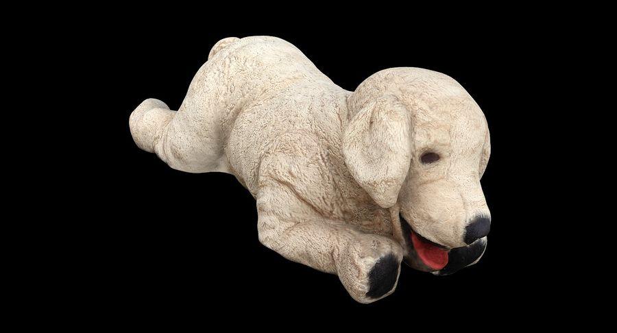 Doldurulmuş Köpek royalty-free 3d model - Preview no. 2