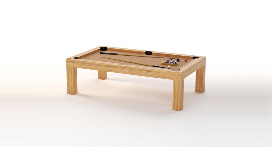 Precision Pool matbord royalty-free 3d model - Preview no. 2