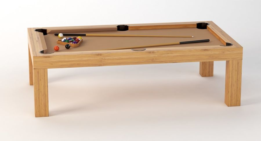 Precision Pool matbord royalty-free 3d model - Preview no. 7