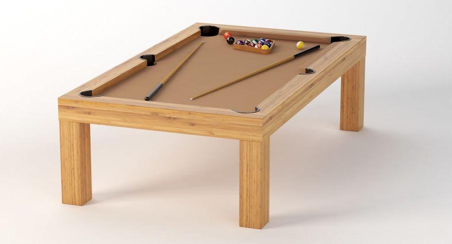 Precision Pool matbord royalty-free 3d model - Preview no. 5