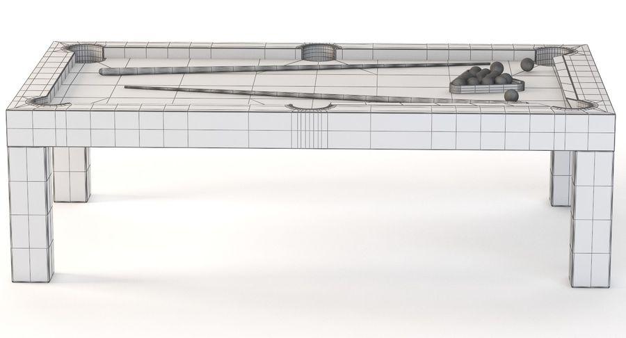 Precision Pool matbord royalty-free 3d model - Preview no. 11