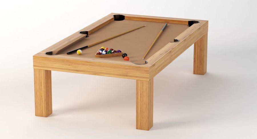 Precision Pool matbord royalty-free 3d model - Preview no. 8