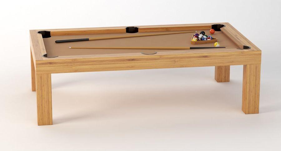 Precision Pool matbord royalty-free 3d model - Preview no. 10