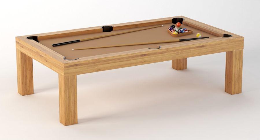 Precision Pool matbord royalty-free 3d model - Preview no. 4