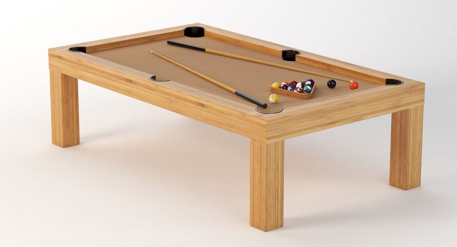 Precision Pool matbord royalty-free 3d model - Preview no. 9