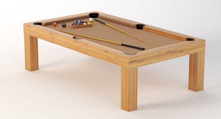 Precision Pool matbord royalty-free 3d model - Preview no. 6