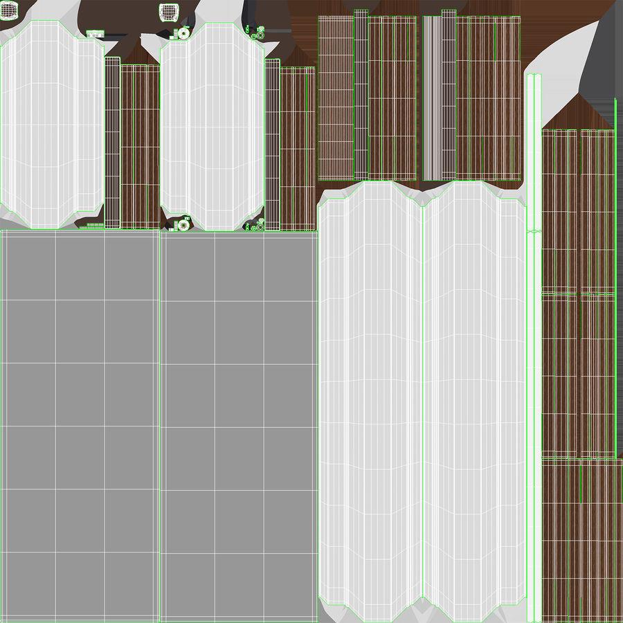 Çağdaş güneşlikler royalty-free 3d model - Preview no. 19