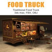 Caminhão de comida 3d model