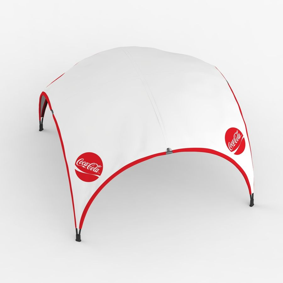 Event Shelter Coleman 3D model royalty-free 3d model - Preview no. 5