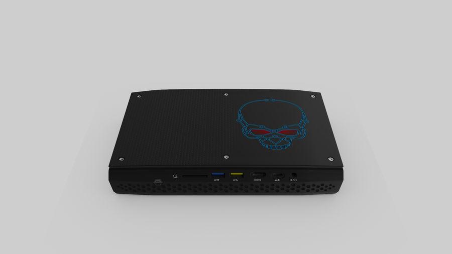 Intel NUC Hades Canyon royalty-free 3d model - Preview no. 3