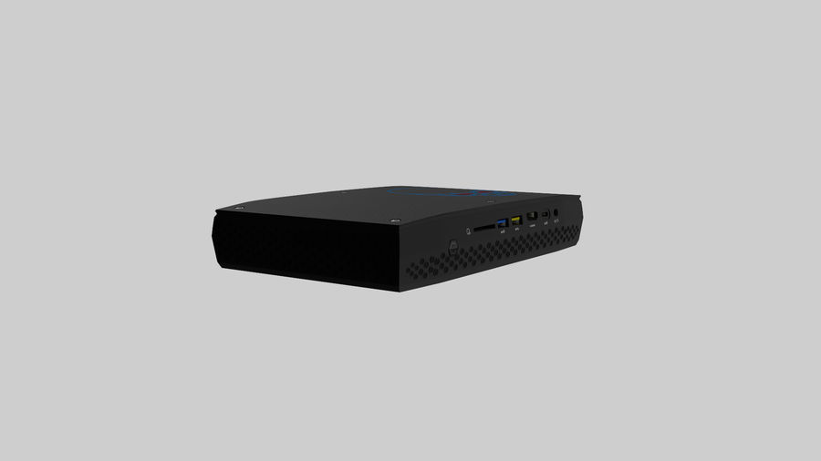 Intel NUC Hades Canyon royalty-free 3d model - Preview no. 5