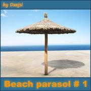 Пляжный зонт № 1 3d model
